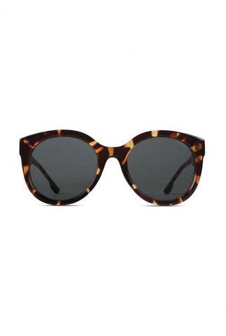 ronde zonnebril met luipaard dessin ellis havana kom-s5404