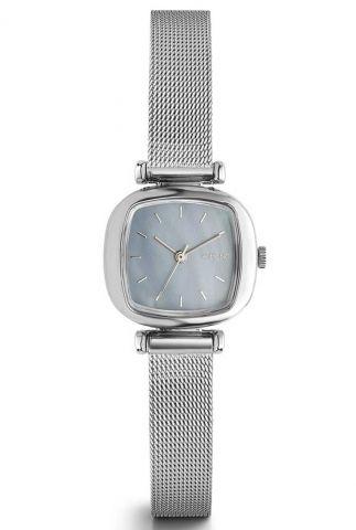 zilverkleurig horloge moneypenny royale silver light kom-w1246