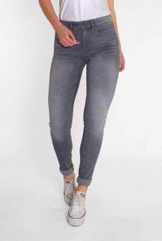 grijze skinny jeans van biologisch katoen slate grey carey 21-27