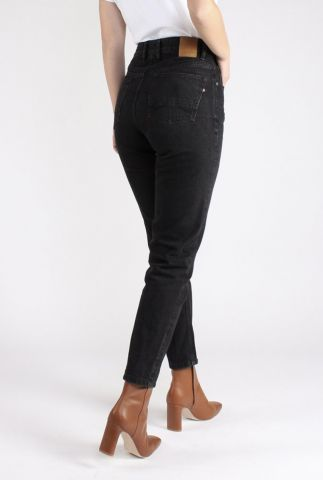 zwarte vintage mom fit jeans nora 55-10