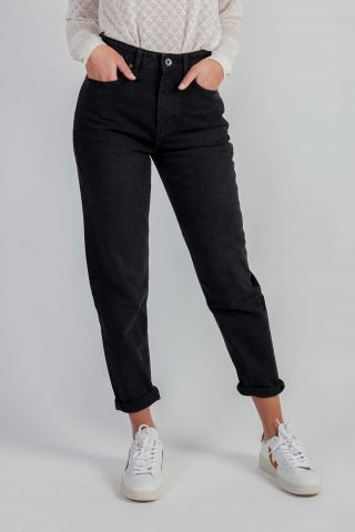 zwarte mom jeans nora tapered vintage black 55-10