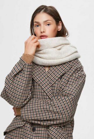 zachte gebreide sjaal met rib dessin linna knit scarf 16075572