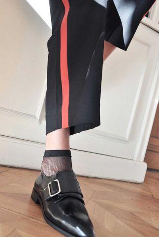 sokken met fijn visnet patroon   liv sock net