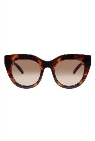 bruin gemêleerde cat eye zonnebril air heart2130 lsp1902130