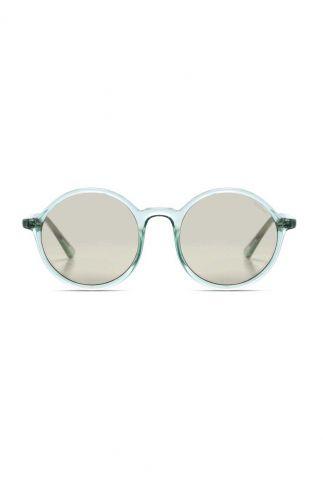 lichtblauwe ronde zonnebril madison aqua kom-s3267