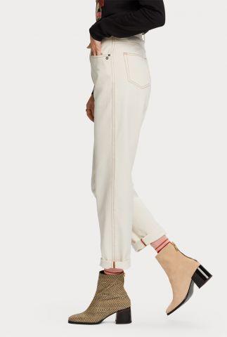 off-white jeans met rechte broekspijp 159028