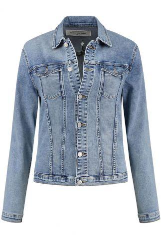 klassieke spijker jas met borstzakje mara denim jacket w20.106.1895