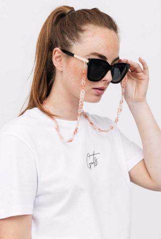 marble zonnebril koord met grove schakels marble chain suncord
