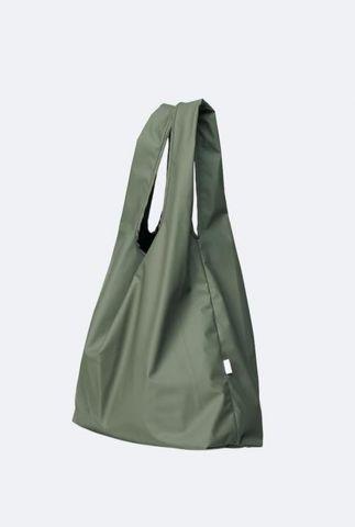 olijf kleurige shopper market bag 1380