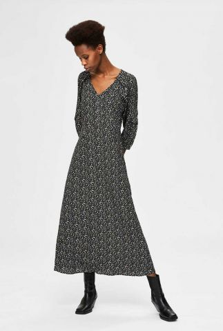 maxi jurk met all-over print riyanka-oriana dress 16076591