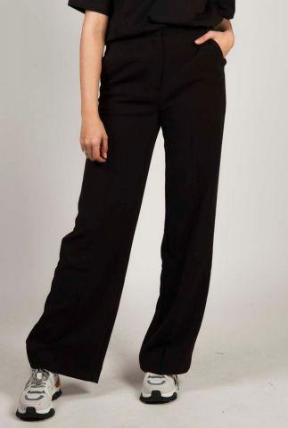 nette broek met wijde pijpen moore pants