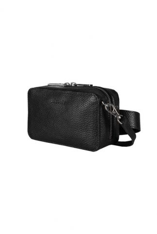 zwarte heuptas met relief my boxy bag camera with belt 1366-0631