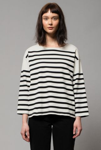 off white top met streep dessin charlotte breton stripe 131721