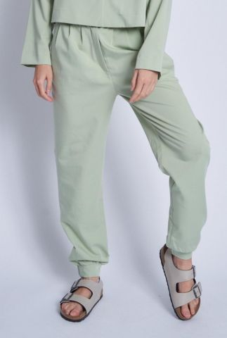 groene broek met steekzakken neroli jogger nwtr74c