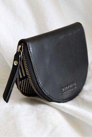 kleine zwarte portemonnee laura coin purse omb-e147cv