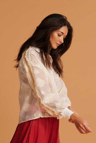 off-white blouse met wolken en franjes floating clouds sp6486