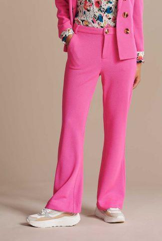 felroze flared pantalon smashing pink sp6517