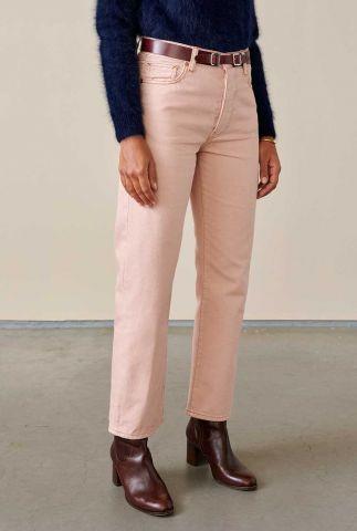 licht roze straight jeans popeye12 r0788