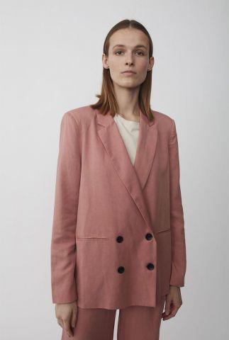 roze double breasted blazer van lyocell priya soft blazer
