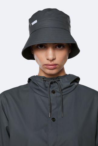 donker grijze bucket hoed 2001 slate