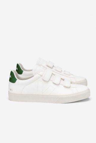 witte sneakers met klittenband recife chromefree re0502736