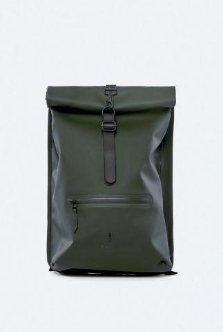 waterdichte rugzak met opgerolde sluiting rolltop rucksack 1316