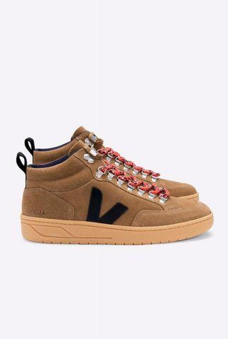 half hoge bruine suède sneakers roraima suède qrw031642