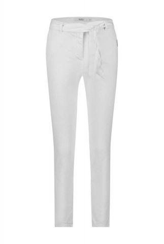 witte broek van linnen katoen mix s20w262ltd