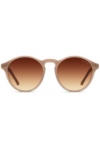 ronde beige zonnebril devon sahara kom-s3204