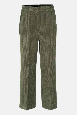donker groene rib broek met wijde pijpen boyas new trousers
