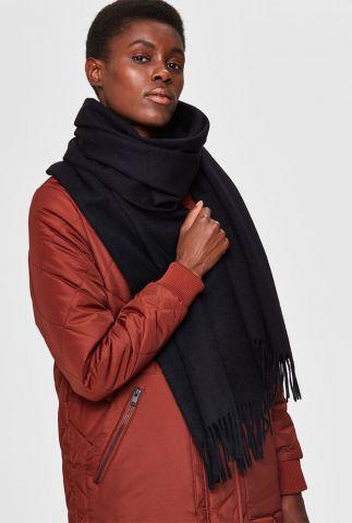 zachte wollen sjaal met franjes time wool scarf 16062002