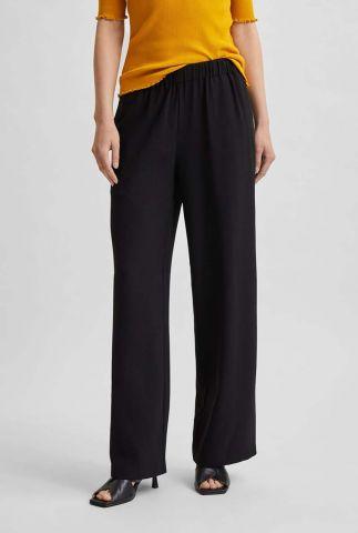 zwarte broek met wijde pijpen tinni-relaxed pant noos 16080551