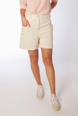 beige short met grote zakken harriet short SR321-717