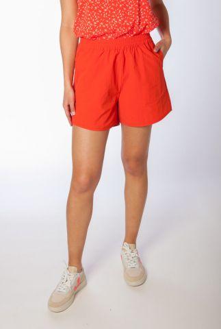 rode short met elastische band crystal shorts SR321-737