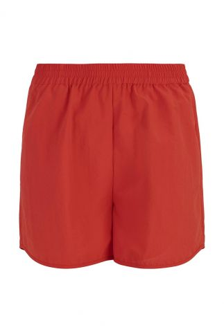 rode short met elastische band crystal shorts SR321-737