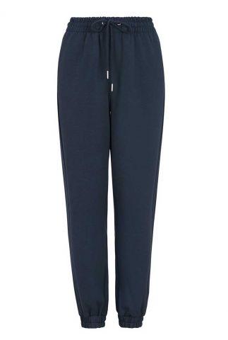 donker blauwe nonchalante broek cara pant SRX213-308