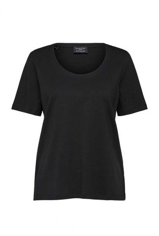 basis t-shirt met ronde hals standard u-neck noon 16077339
