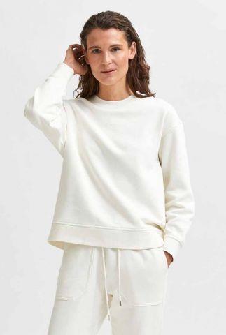 biologische katoenen sweater stasie ls sweat 16082407