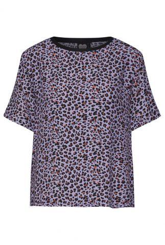 lila top met luipaard print ts stevie