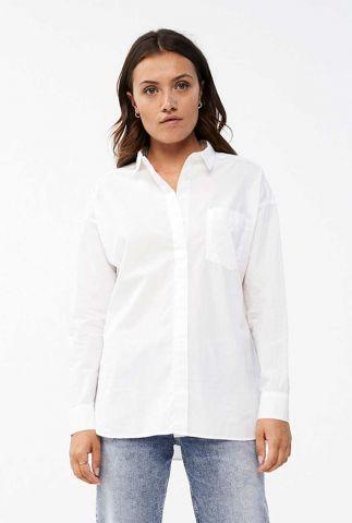 witte katoenen basis blouse suzy blouse