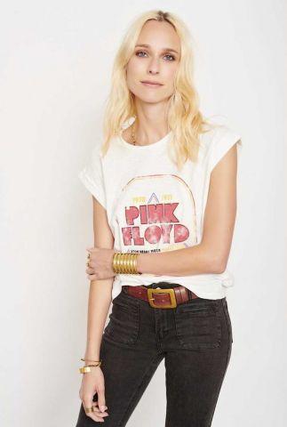 wit t-shirt met roze pink floyd opdruk tim pink floyd