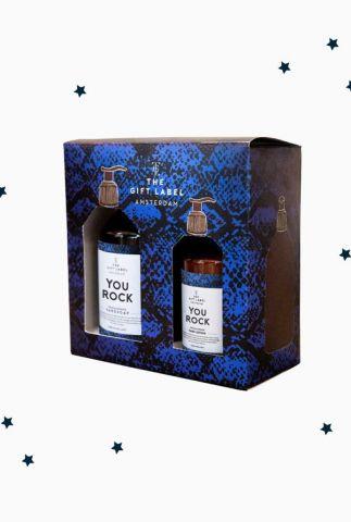 gift set handzeep en lotion you rock box 1013112