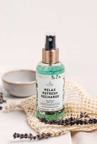 body mist spray 100ml relax refresh recharge 2100004