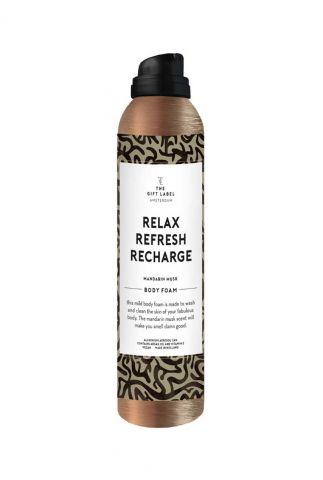 doucheschuim 200ml body foam soap relax refresh recharge 1030005