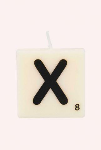 letter kaars X 7040034