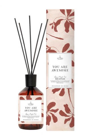 vegan reed diffuser geurstokjes you are awesome 10123009