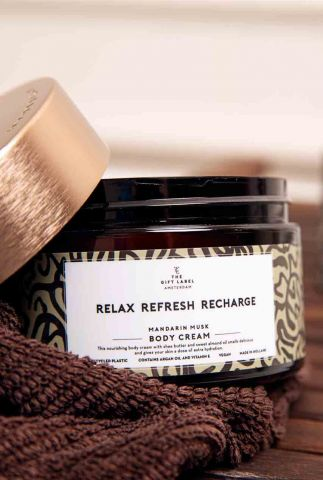 vegan body cream relax refresh recharge 250ml 1012805