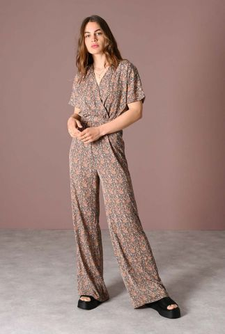 overslag jumpsuit met paisley dessin lucy jumpsuit paisley