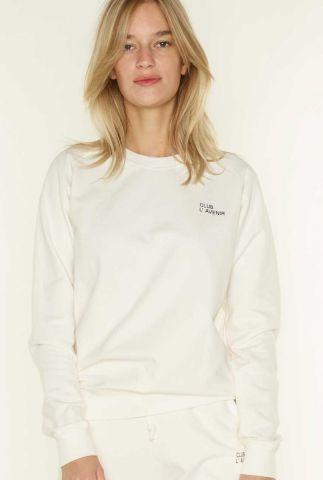 zachte sweater met klein logo trust 2053204