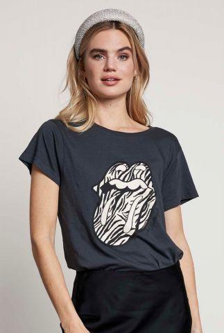 donker grijs t-shirt ts rolling stones